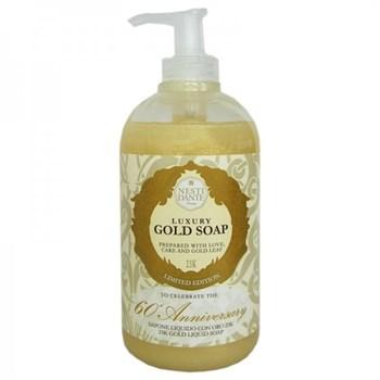 "Жидкое мыло ""NESTI DANTE ANNIVERSARY 60th Anniversary Gold Liquid Soap Юбилейное Золотое"" 250мл для всех типов кожи - фото 70291"