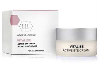 "Крем ""Holy Land Vitalise Active Eye Cream With Hyaluronic Acid"" активный для век 15мл - фото 72821"