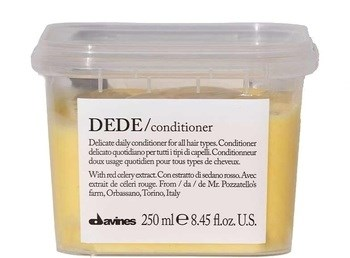 """Кондиционер """"Davines Essential Haircare DEDE Conditioner delicate"""" 250мл для волос деликатный - фото 73639"""