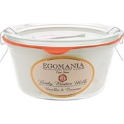 """Крем-масло """"Egomania Body Butter Milk Vanilla & Coconut ваниль и кокос"""" 220мл для тела"""