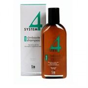 """Терапевтический Шампунь """"Sim Sensitive System 4 Therapeutic Climbazole Shampoo № 1"""" 500мл для нормальной и жирной кожи головы"""