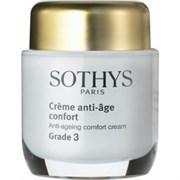 """Крем """"Sothys Anti-Ageing Comfort Cream Grade 3 активный"""" 50мл для нормальной и сухой кожи"""