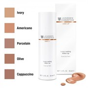 "Крем ""Janssen Cosmetics Long Lasting Make-Up Americano стойкий тональный с SPF-12"" 30мл"