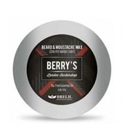 BRELIL Professional BERRY'S Beard and Mustache Wax - Воск для бороды и усов 25мл