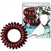 Invisibobble Burgundy Dream - Резинка-браслет для волос, цвет Бордовый Металлик 3шт