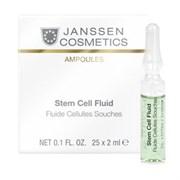 """Сыворотка """"Janssen Cosmetics Ampoules Stem Cell Fluid"""" в ампулах 25 х 2мл для клеточного обновления"""