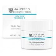 """Ночной крем """"Janssen Cosmetics Dry Skin Night Replenisher питательный регенерирующий"""" 50мл"""