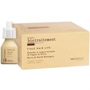 """BRELIL Professional Bio Traitement Repair Hair Life - Лосьон восстанавливающий для сухих волос """"Жизнь волос"""" 12 х10 мл"""
