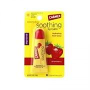 "Бальзам ""Carmex Soothing Strawberry"" 10гр для губ"