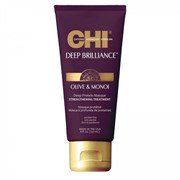 "Маска ""CHI Deep Brilliance Olive & Monoi Optimum Protein Masque протеиновая""236мл для волос"
