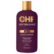 "Кондиционер ""CHI Deep Brilliance Olive & Monoi Optimum Moisture Conditioner"" 355мл для поврежденных волос"