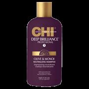 "Шампунь ""CHI Deep Brilliance Olive & Monoi Neutralizing Shampoo"" 355мл глубоко очищающий и нейтрализуйющий"