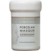 """Маска """"Christina Porcelan Astrigent Porcelan Mask поросуживающая Порцелан"""" 250мл для жирной и проблемной кожи"""