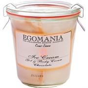 """Крем-гель """"Egomania Duet Body Gel and Cream Chocolate для тела ( Мороженое) шоколад"""" 290мл"""