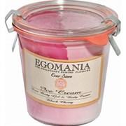 """Гель и крем """"Egomania Duet Body Gel and Cream Black Cherry черешня"""" 290мл для тела"""