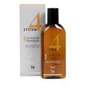 """Терапевтический Шампунь """"Sim Sensitive System 4 Therapeutic Climbazole Shampoo № 2"""" 500мл для сухих поврежденных и окрашенных волос"""