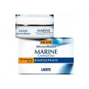 "Крем ""Guam Microcellulaire Marine Crema Viso Rimpolpante укрепляющий"" 50мл против морщин"