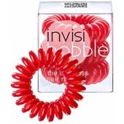 Invisibobble Raspberry Red - Резинка-браслет для волос, цвет Ярко-красный 3ш