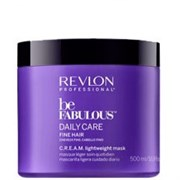 "Маска ""Revlon Professional Be Fabulous C.R.E.A.M. Mask For Fine Hair"" 500мл для тонких волос"