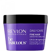 "Маска ""Revlon Professional Be Fabulous C.R.E.A.M. Mask For Fine Hair"" 200мл для тонких волос"