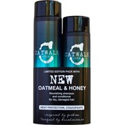 TIGI Catwalk Oatmeal & Honey Kit - Набор для питания сухих и ломких волос шамп.300 + конд.250мл