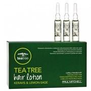 Paul Mitchell Hair Lotion Keravis & Lemon Sage - Объемообразуюзщие Ампулы, 12*6 мл