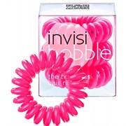 Invisibobble Candy Pink - Резинка-браслет для волос, цвет Розовая 3шт