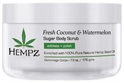 Hempz Fresh Coconut & Watermelon Sugar Body Scrub - Скраб для тела Кокос и Арбуз 176гр
