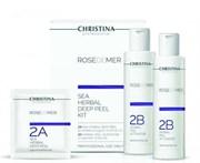 Christina Rose de Mer Sea Herbal Deep Peel kit - Набор для пилинга ( порошок 20 саше + 2 активатора )