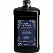 Davines Heart of Glass Silkening Shampoo - Шампунь для сияния блонд 1000мл