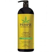 Hempz Original Herbal Conditioner For Damaged & Color Treated Hair - Кондиционер растительный Оригинальный для поврежденных окрашенных волос 1000мл