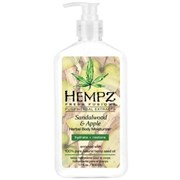 "Hempz Sandalwood & Apple Herbal Body Moisturizer - Молочко для тела увлажняющее ""Сандал и Яблоко"" 500мл"